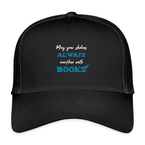 0038 author | Writer | Book blogger | reader - Trucker Cap