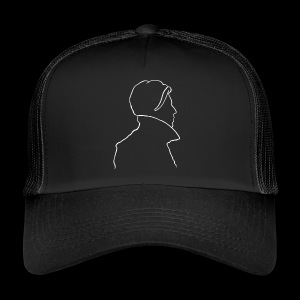 David Bowie Low (white) - Trucker Cap
