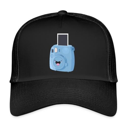 Appareil photo instantané bleu - Trucker Cap