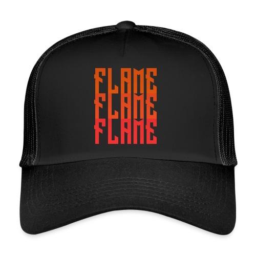 maglietta_flame_flame_flame - Trucker Cap