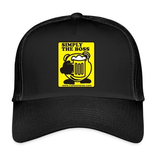 Simply the Boss - Trucker Cap