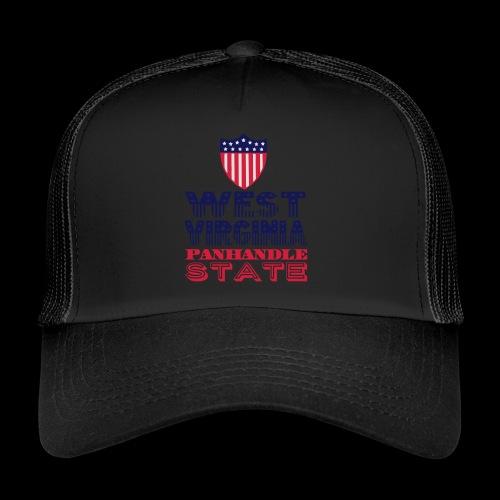west virginia panhandle - Trucker Cap