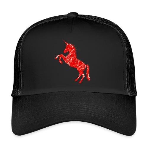 unicorn red - Trucker Cap