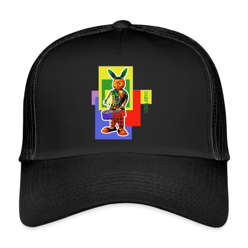 smARTkids - Slammin' Rabbit - Trucker Cap