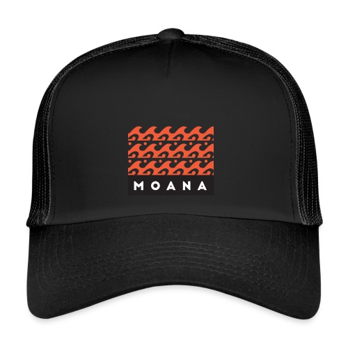 Moana means Spirit of the Ocean by Te-Moana - Trucker Cap