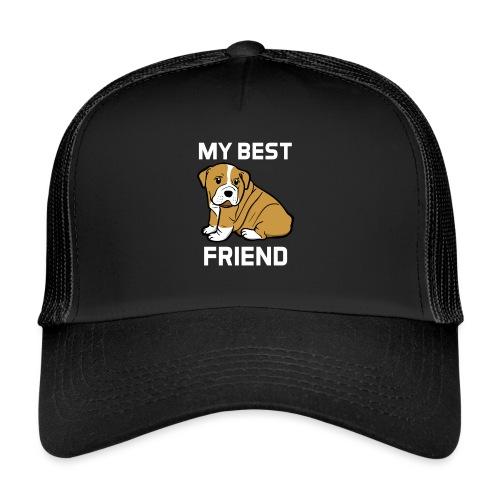 My Best Friend - Hundewelpen Spruch - Trucker Cap