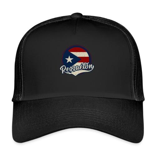 Reggaeton Music - Puerto Rico - Trucker Cap