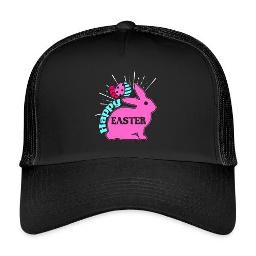 Happy Easter - Frohe Ostern - Trucker Cap