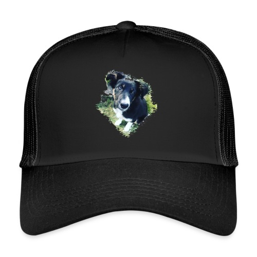 colliegermanshepherdpup - Trucker Cap