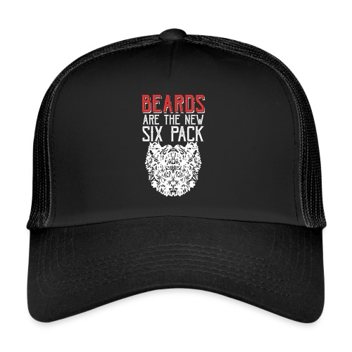 BEARDS ARE THE NEW SIXPACK - Bart Sixpack - Trucker Cap