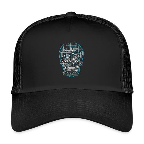 electric skull tshirt ✅ - Trucker Cap