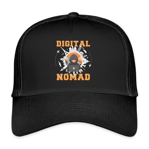 Digital Nomad - Trucker Cap