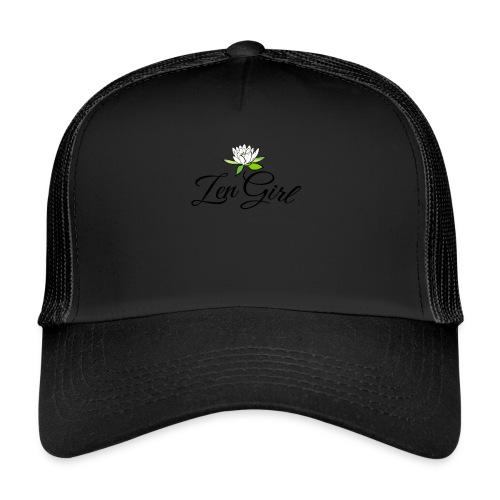 zengirl with lotusflower for purity in life - Trucker Cap