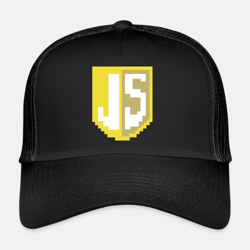 JavaScript Pixelart logo - Trucker Cap