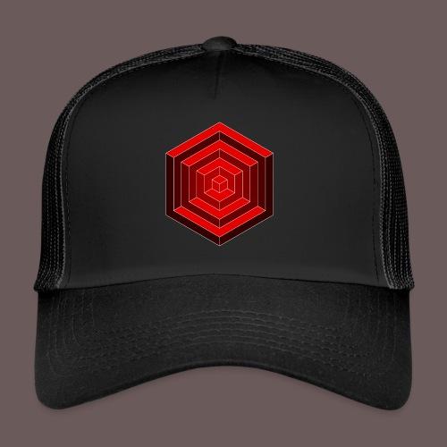 Hexagon Cube - Trucker Cap