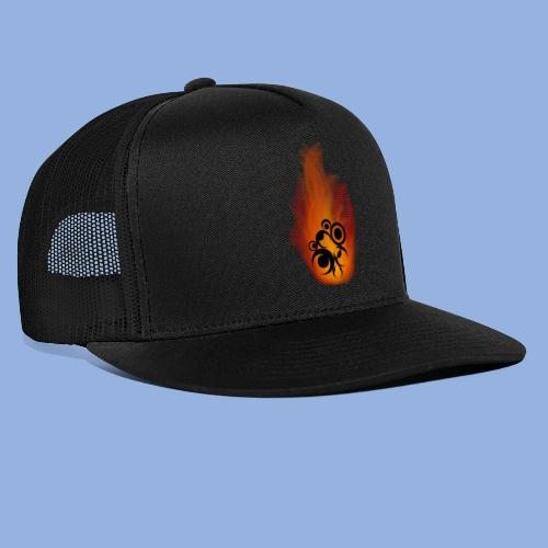 Should I stay or should I go Fire - Trucker Cap