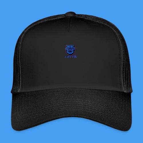 Lotties Blue Tiger Drop! - Trucker Cap