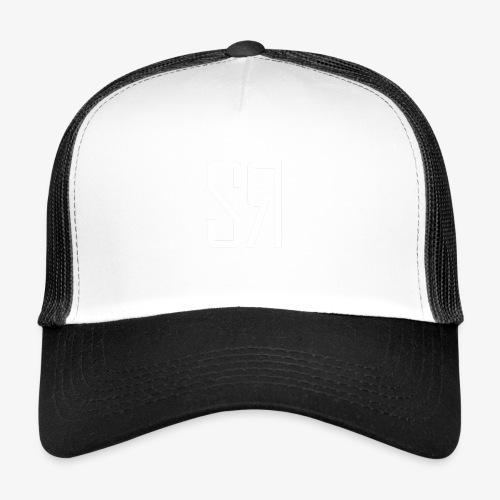 White badge (No Background) - Trucker Cap