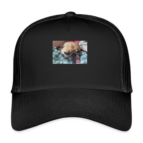 Hund med tungan ute - Trucker Cap