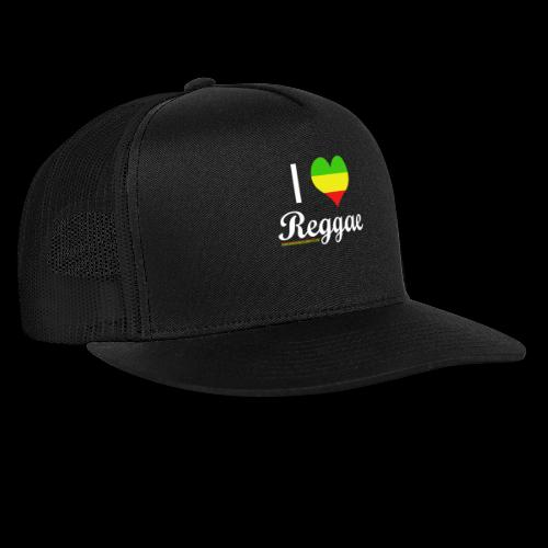 I LOVE Reggae - Trucker Cap