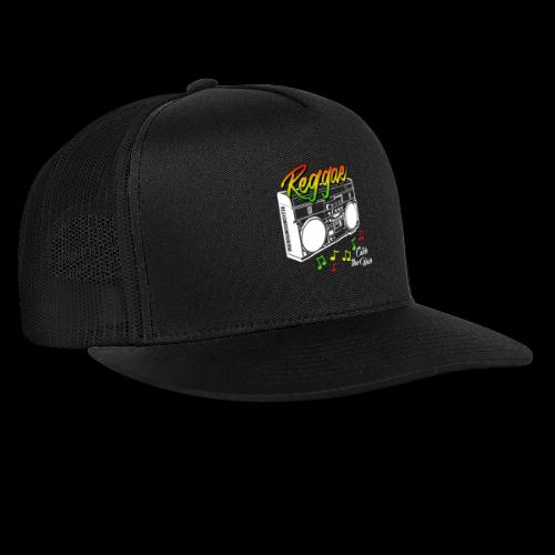 Reggae - Catch the Wave - Trucker Cap