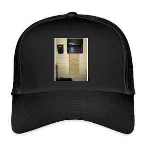 Stuck in the paperholder - Trucker Cap
