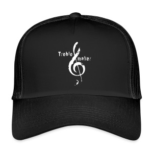 treble_maker-white - Trucker Cap