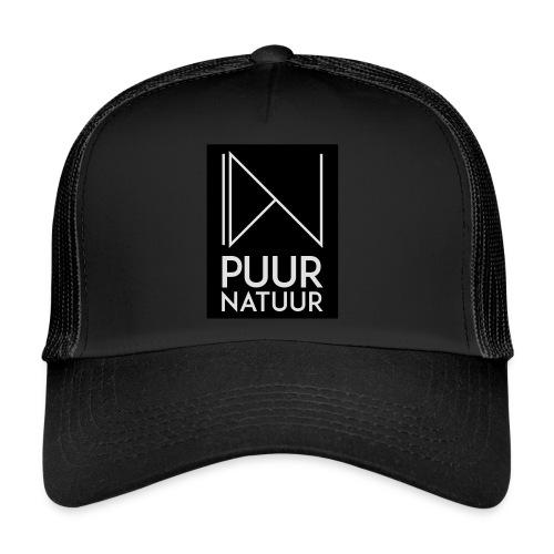 Logo puur natuur negatief - Trucker Cap
