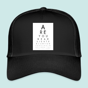 Eyechart - Trucker Cap