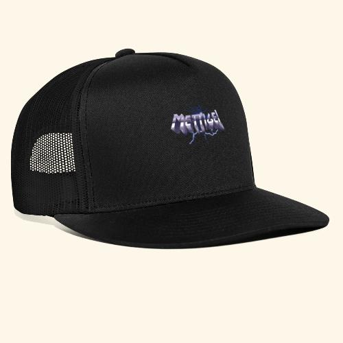 Mettigel T Shirt Design Heavy Metal Schriftzug - Trucker Cap