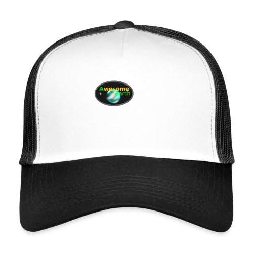awesome earth - Trucker Cap