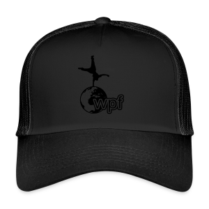 WPF Black - Trucker Cap