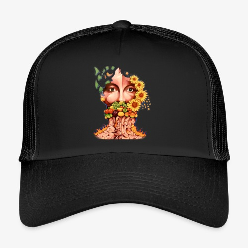 Fruit & Flowers - Trucker Cap