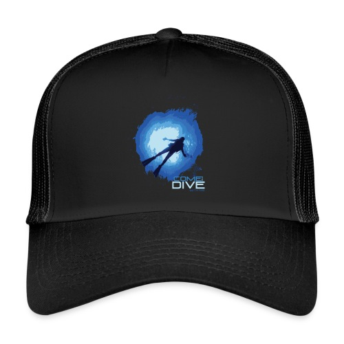 Come and dive with me - Trucker Cap