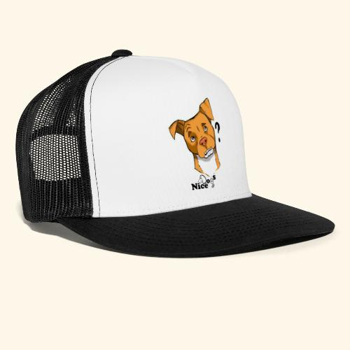 Nice Dogs pitbull 2 - Trucker Cap