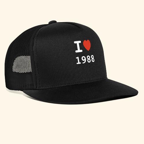 I Love 88 w p 001 - Trucker Cap