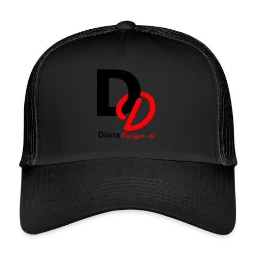 logo_diana_designs-nl - Trucker Cap