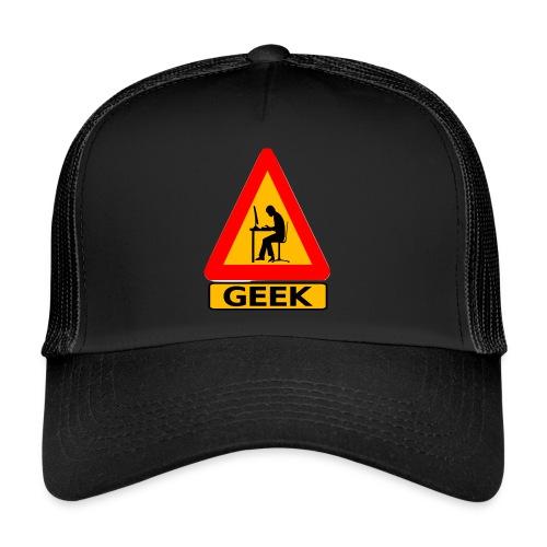geek_warning - Trucker Cap