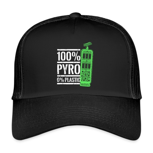 Pyro Feuerwerk Grün - Trucker Cap