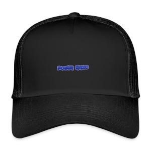 Power Text logo - Trucker Cap