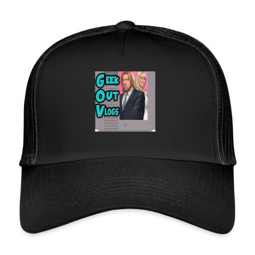 GeekOut Vlogs NES logo - Trucker Cap