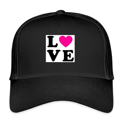 Love t-shirt - Trucker Cap