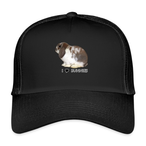 I Love Bunnies Luppis - Trucker Cap