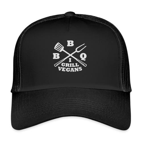 Je barbecue végétaliens grill (BBQ) - Trucker Cap