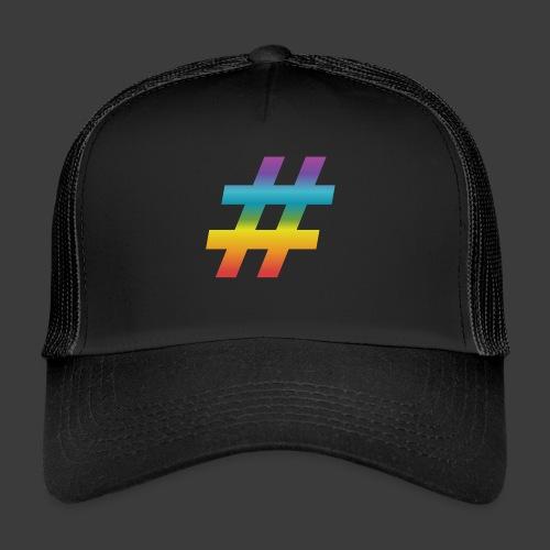rainbow hash include - Trucker Cap