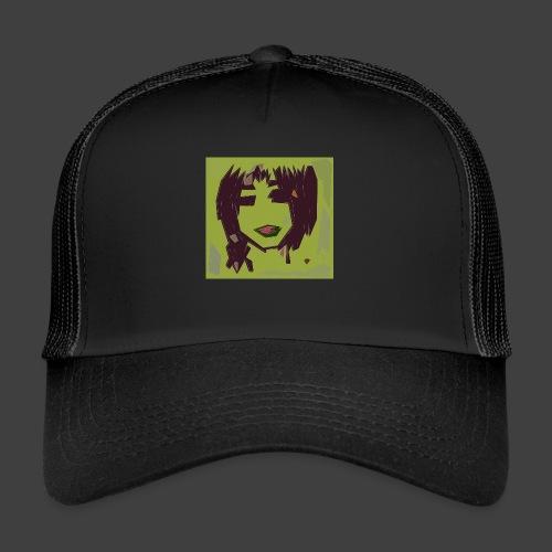Green brown girl - Trucker Cap