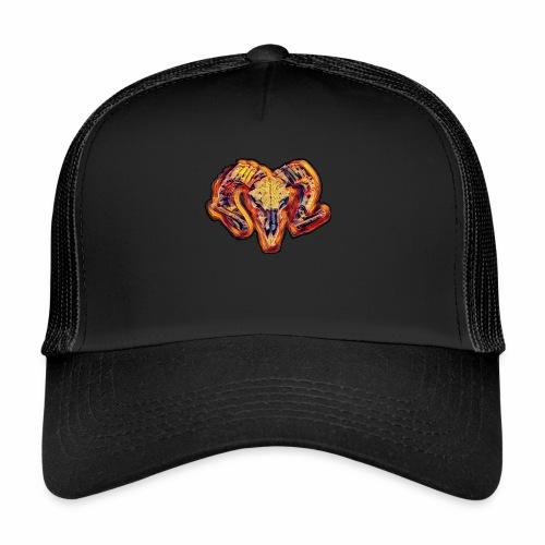 bull on fire medio - Gorra de camionero