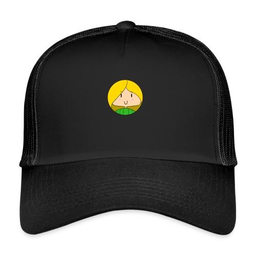fille blonde - Trucker Cap
