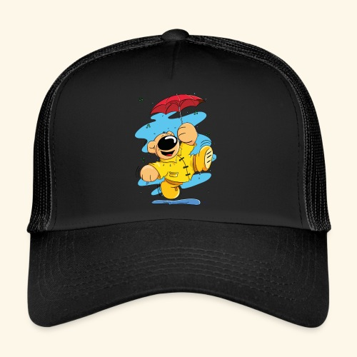 Der Bär tanzt im Regen - Trucker Cap