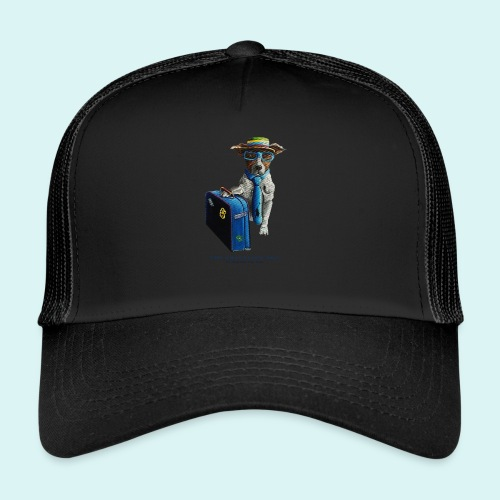 The Traveling Dog - Trucker Cap